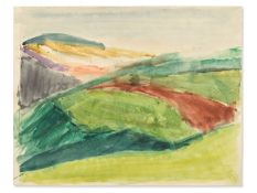 """Rudolf Petrik (1922-1991), """"Landschaft"""" Österreich, ca. 1950"""