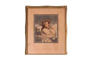 """J.R. Smith (1751-1812) """"A Bachante"""" 1781"""