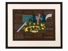 R.B. Kitaj (1887-1948), Heart, Farbserigrafie, 1966