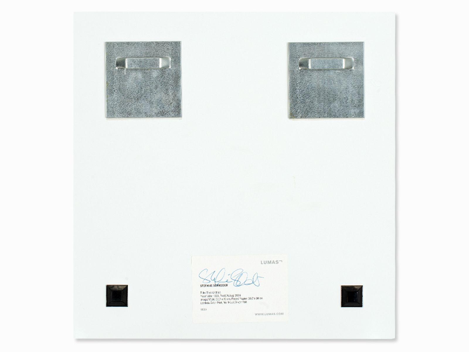 Stefanie Schneider (geb. 1968), Ohne Titel, Lambda Color-Print, 1999 - Image 6 of 8