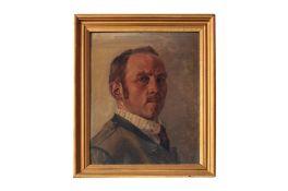 """Adolf Wiesler (1878-1958) """" Selbstporträt"""""""