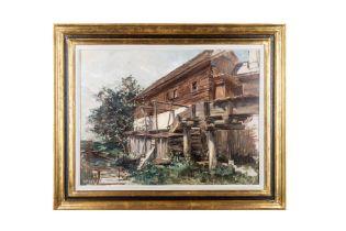 """Carl Kaiser-Herbst, """"Mühle in St. Agatha"""""""
