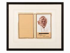 R.B. Kitaj (1887-1948), W.H. Auden, Farbserigrafie, 1969