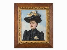 "Paul Jean Gervais (1859-ca.1936), ""Porträt einer Dame, um 1900"""