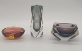 Murano | Sommerso | Mixed Lot of 3