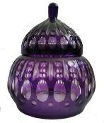 Bohemian Jar | Purple