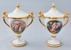 Paar Fürstenberg Vasen