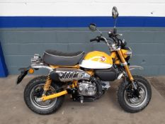 2019 Honda 125cc Monkey Bike Proceeds to East Anglia Air Ambulance