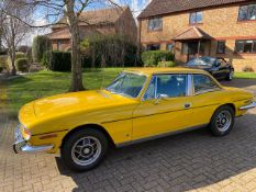 1976 Triumph Stag 3.0 Yellow
