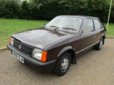 1983 Vauxhall Astra 1.3S MKI