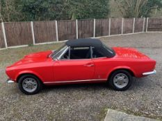 1968 Fiat 124 Spider (AS Series 1) LHD