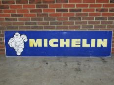 Large Michelin Tyres Metal Sign