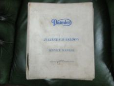 Daimler 250 V8 Factory service manual