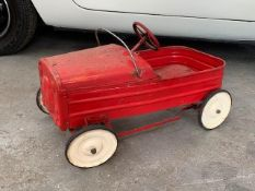 Vintage Triang childs Pedal Car