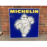 Large Michelin Tin Sign