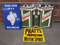 3 modern reproduction small signs