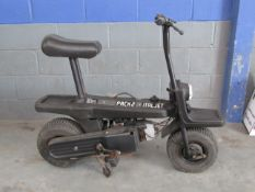1980 Italjet Pack 2 Folding Moped
