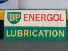BP Energol Lubrication Sign