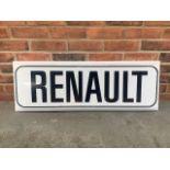 Renault Dealership sign