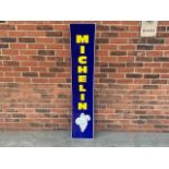 Large Michelin aluminium sign