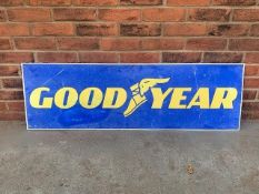 Goodyear Tyres Aluminium Sign