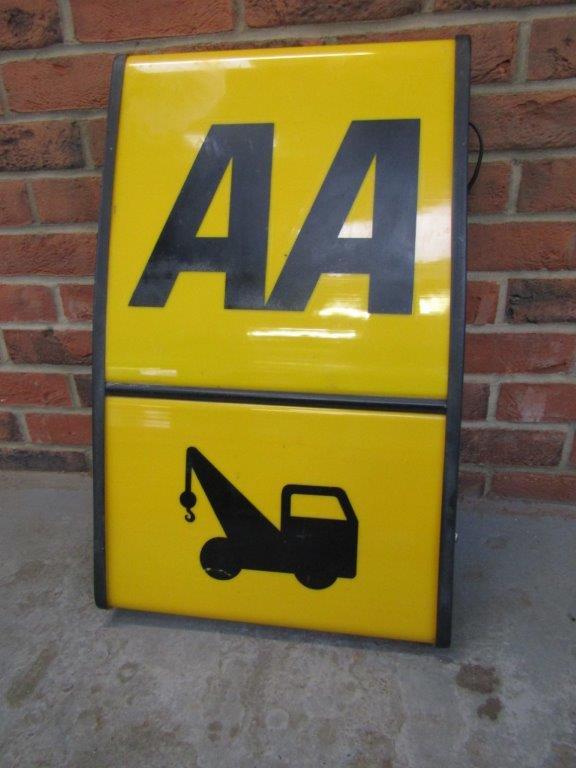 AA Breakdown Service sign