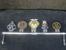 Classic Car Badge Bar with Motoring Badges
