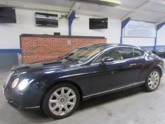 07 07 Bentley Continental GT Auto