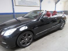 62 12 Mercedes E220 Spt CDI Blue