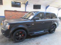 11 11 Range Rover Sport SP HSE