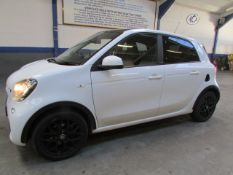 66 16 Smart Forfour Edt White T