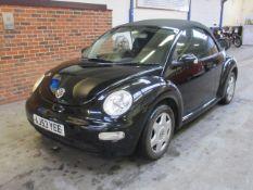 53 03 VW Beetle Cabrio TDi