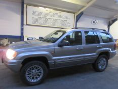02 02 Jeep Gr Cherokee CRD LTD