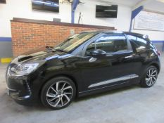 66 16 Citroen DS3 Prestige Blue HDi