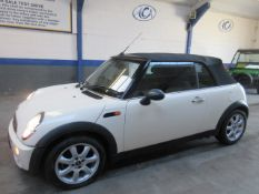 08 08 Mini One Convertible