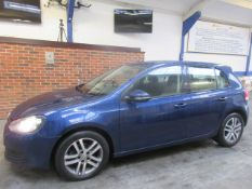 09 09 VW Golf SE TDI 140