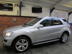 59 10 Mercedes ML350 Spt CDI Blue