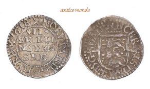 Dänemark, Christian IV., 1588-1648, 2 Skilling, 1618, fast vorzüglich, 1,01 g- - -21.50 % buyer's