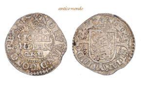 Dänemark, Christian IV., 1588-1648, 4 Skilling, 1617, leichte Prägeschwäche, fast vorzüglich, 1,83