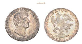 Mexiko, Kaiserreich, Augustin I., 1822-1823, 8 Reales, 1823, hübsche Patina, sehr schön, 27,14