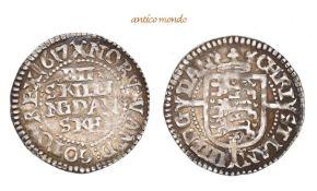 Dänemark, Christian IV., 1588-1648, 4 Skilling, 1617, vorzüglich, 1,62 g- - -21.50 % buyer's premium