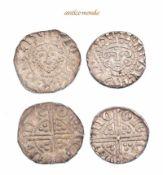 Großbritannien, Henry III., 1216-1272, Penny, o.J., sehr schön, 2 Stck- - -21.50 % buyer's premium