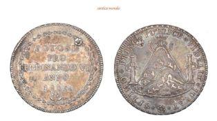 Bolivien, Ferdinand VII., 1808-1824, 8 Reales, 1808, gelocht, sehr schön-vorzüglich, 27,07 g- - -