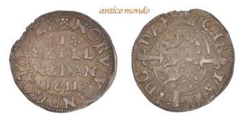 Dänemark, Christian IV., 1588-1648, 1 Skilling, 1611, sehr schön +, 1,21 g- - -21.50 % buyer's