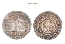 Dänemark, Christian IV., 1588-1648, 16 Skilling, 1644, sehr schön, 5,00 g- - -21.50 % buyer's