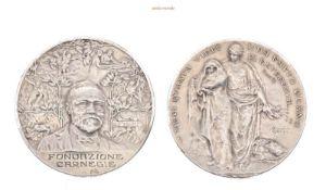 USA, Lebensrettungs-Medaille der Carnegie-Stiftung o.J., vorzüglich-Stempelglanz, 85,60 g- - -21.