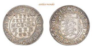 Dänemark, Christian IV., 1588-1648, 2 Skilling, 1603, Prachtexemplar, kl. Schrötlingsriss,