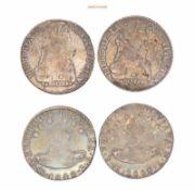 Bolivien, 8 Sols, 1835, 1840, Hübsche Patina, sehr schön und fast sehr schön, 2 Stück- - -21.50 %