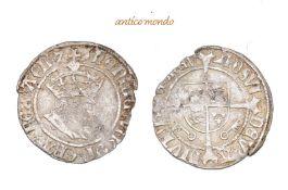 Großbritannien, Henry VII., 1485-1509, Half Groat, o.J., unregelmässiger Schrötling, fast