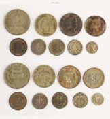 Haiti, Republik, Lot von Münzen des 19. und 20. Jahrhunderts, sehr schön-vorzüglich, 9 Stück- - -